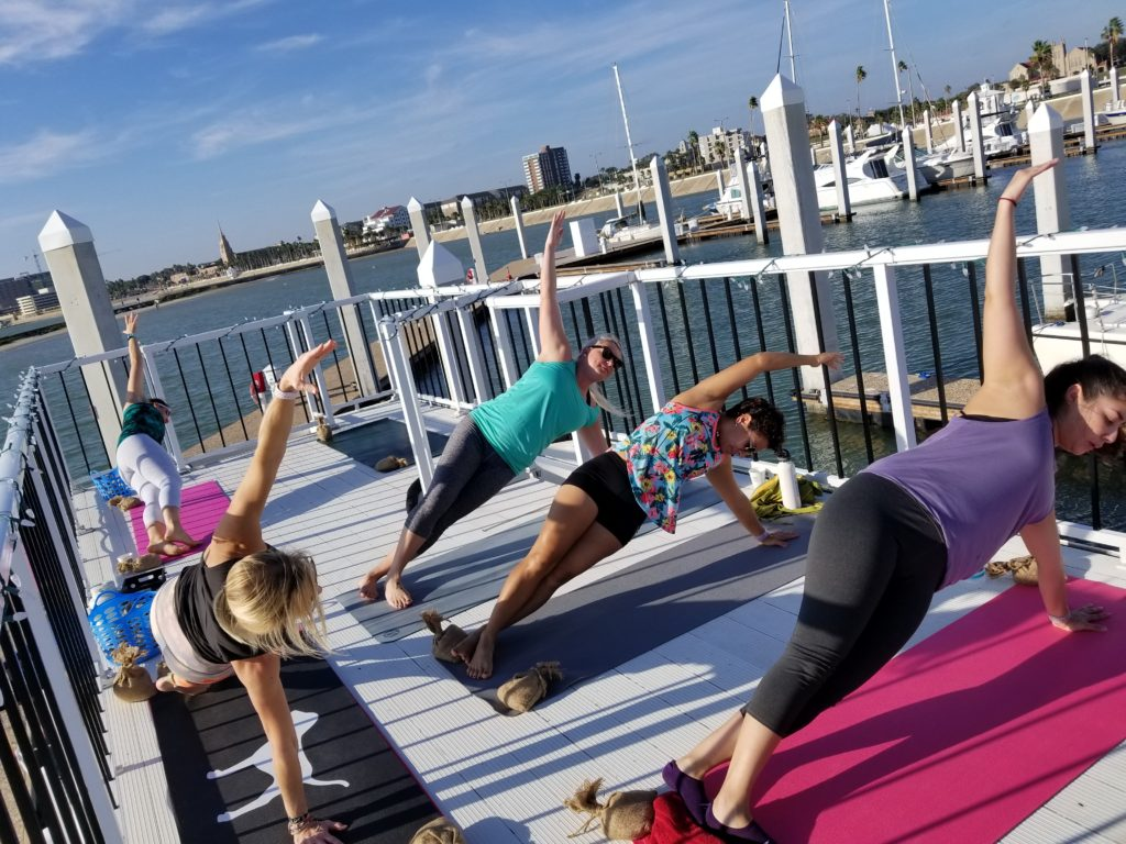 Yoga, Pilates and Barre on the water