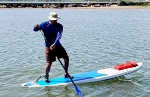 David Velazquez, advanced paddle instructor