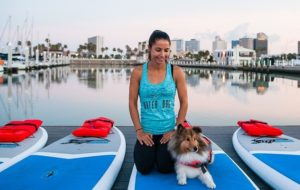 Stacie Richline, Owner & SUP Yoga & E-RYT-200 certified
