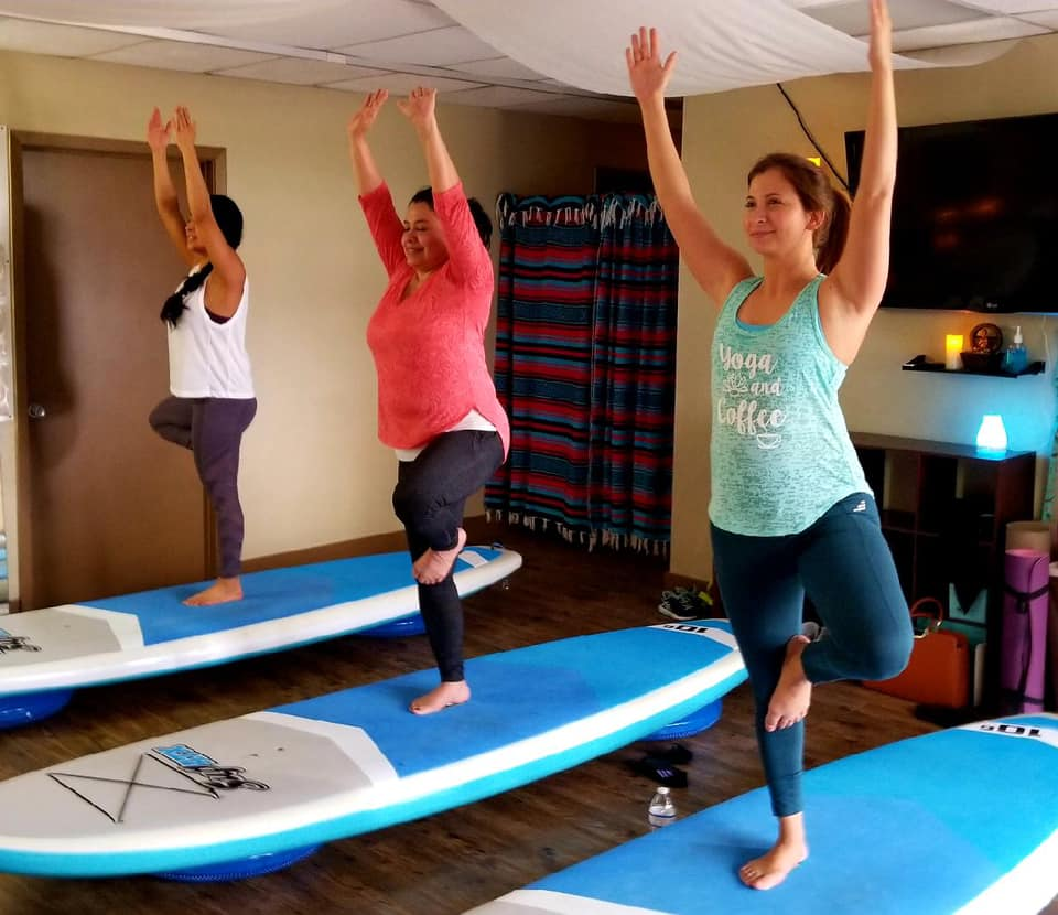 Indoor SUP Yoga
