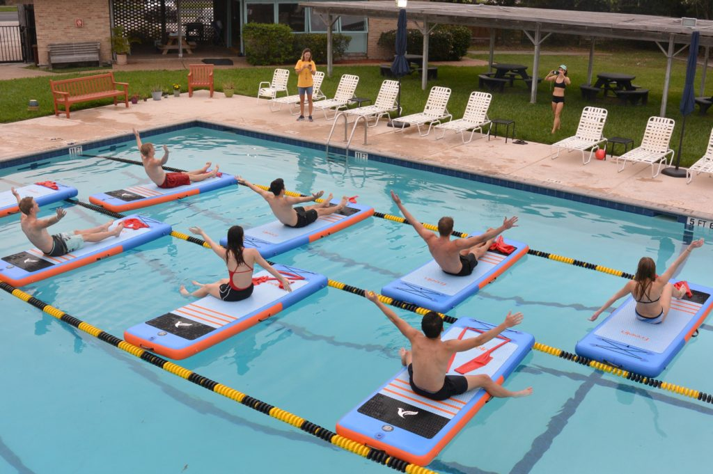 Pool SUP Fit classes