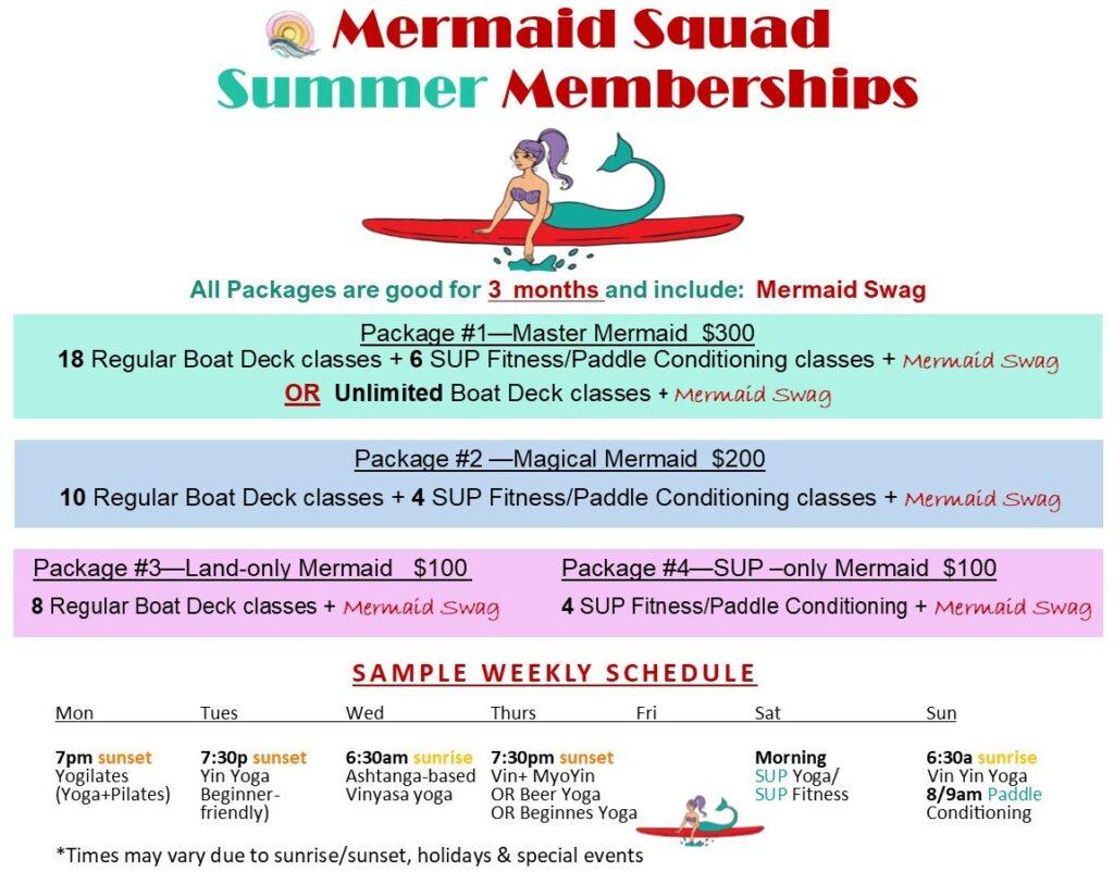 Water Dog membership packages