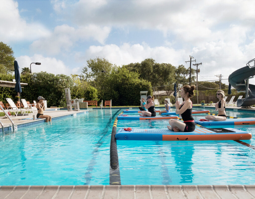 Pool SUP Fitness