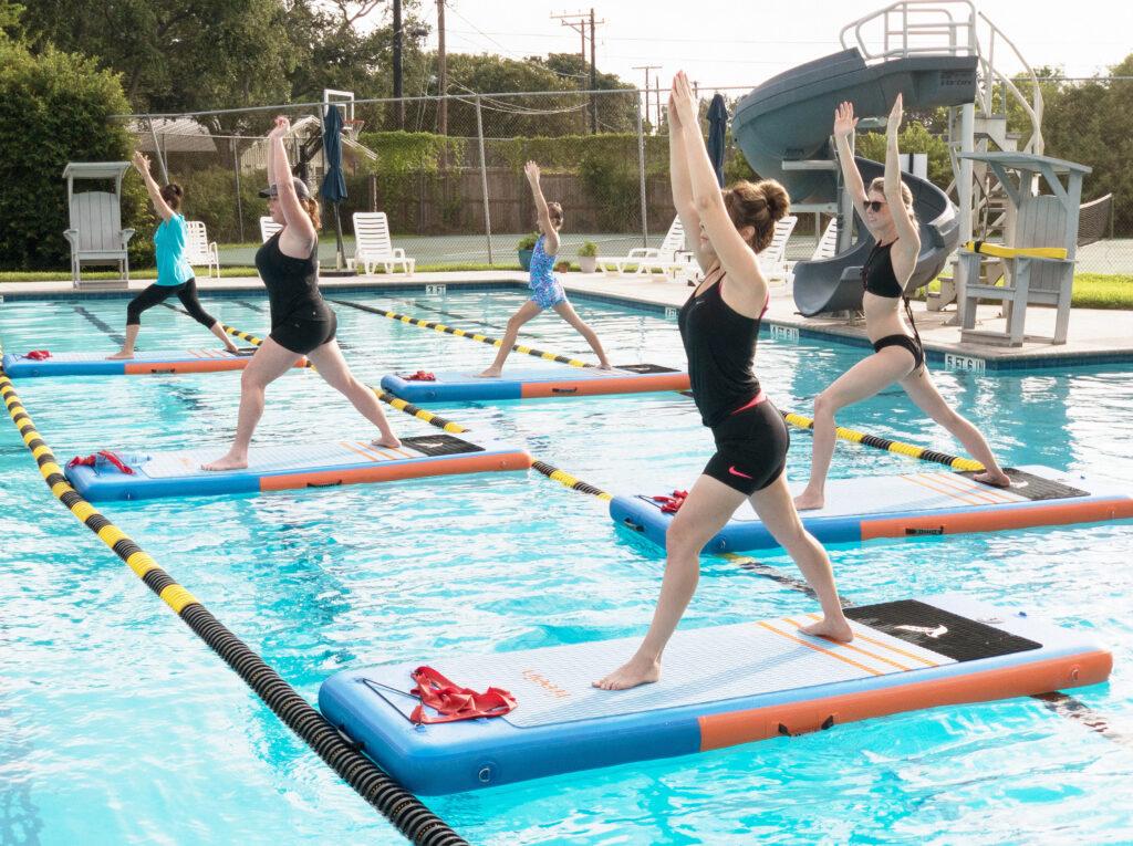 Pool SUP Fit at Sante Fe Pool