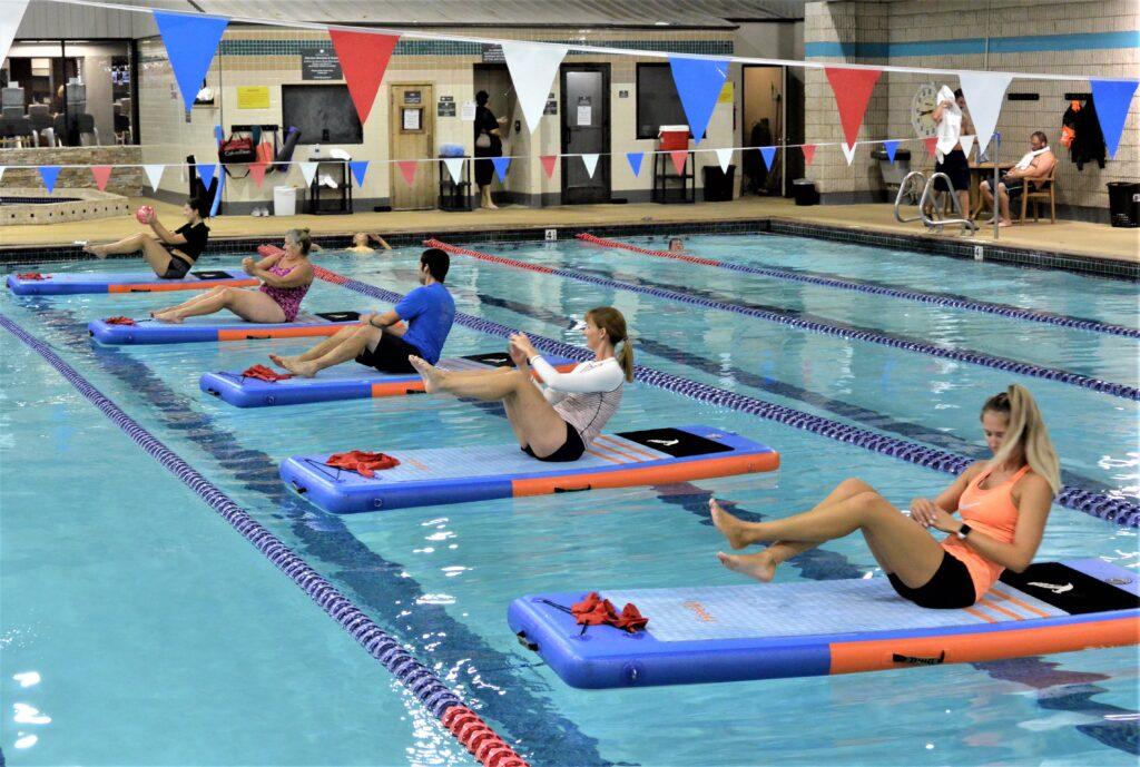 Indoor Pool SUP at Corpus Chrsiti Athletic Club