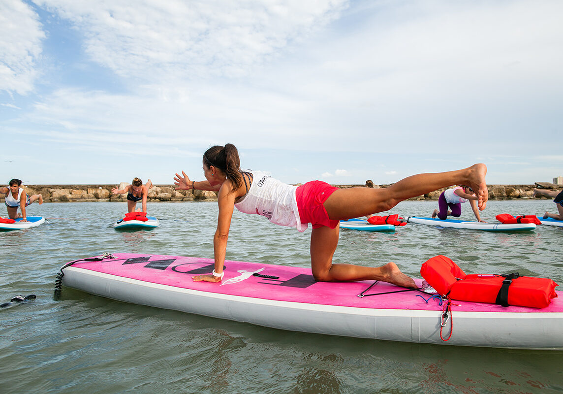 Classes Waterdog Cc Floating Yoga Corpus Christi Tx Sup Yoga