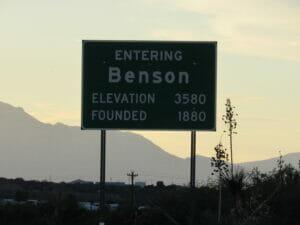 Benson AZ 20