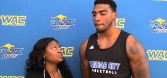 Interview with UMKC Forward Thaddeus Smith