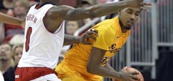 No. 5 Louisville tops Long Beach State 63-48
