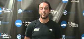 Interview with Rockhurst Associate Men's Soccer Coach Giorgio Antongirolami