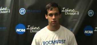 Interview with Rockhurst University Soccer Mid Fielder Sean Verbanic