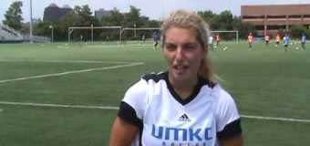 Interview with UMKC Womens Soccer Team member Kaely tott