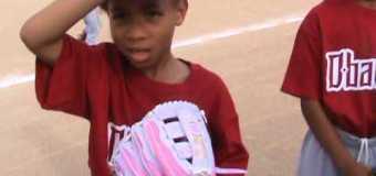 RBI Little League Baseball T Ball Diamond Backs Team Interviews