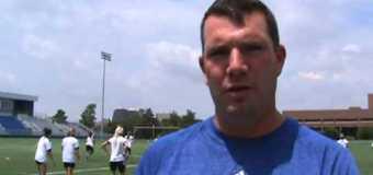UMKC Women's Soccer Head Coach Chris Cissell