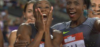 Kendra Harrison 12.20 New World Record in Women's 100m Hurdles – London DL 2016
