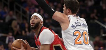 Davis (48 points, 17 rebounds), Pelicans beat Knicks in OT