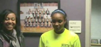 17th HyVee Shootout post game interview Blue Valley North Student Athlete Bria Pierce