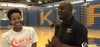 Interview with Student Athlete Jazzmyn Elston participated in the COFCA Exposure Camp