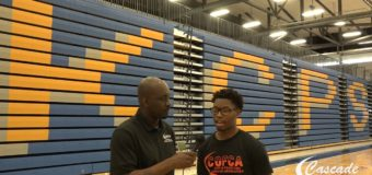Interview with Student-Athletes Darius Gault participated in the (COFCA) Exposure Camp