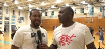 Interview with Coach Buzzy Caruthers  at Alec Burks Basketball Camp