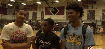 Interview with Grandview High SchoolReggie Morris & Damien Stevens