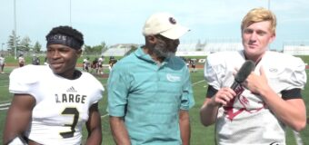 Interview with Lee's Summit North Football Team Members Tre Baker & Keyon Mozee