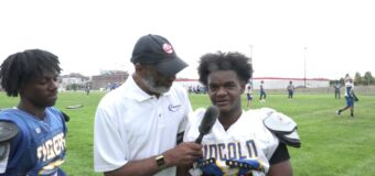 Interview with Lincoln Prep Football Team Member Mario  Woods Jr. & Tymon Kimber