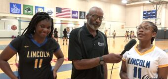 Interview with Lincoln Prep Volleyball Team Members Naiya Evans & Courtney Obasi