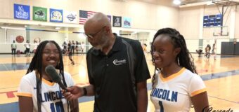 Interview with Lincoln Prep Volleyball Team Members Nyasia Wright & Bria Evans