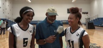 Interview with Ewing Marion Kauffman Volleyball Team Members Jeanelle Brown & JaNya Harris