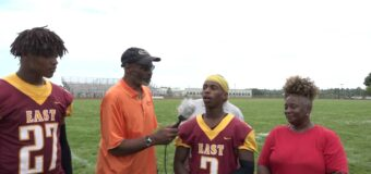 Interview With Hazelwood East ST Louis Football Team Members Jailan Cunningham & Sean Thompson
