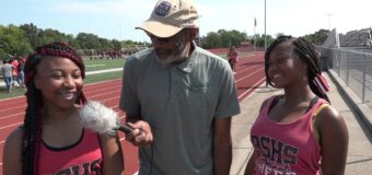Interview with Raytown South Cheer Leader Members Alana King & A'nya Hoskins