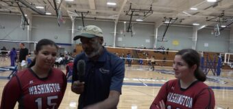Interview with Washington Volleyball Team Members Alexis O'Brien & Selena Gomez