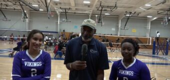 "Interview with Northeast Volleyball Team Members Ty'ianna ""Bama"" Williams  & Luz Urenda"