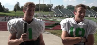 Interview with Smithville Football Team Members  Spencer Miller & Isaac Miller