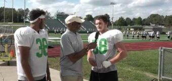 Interview with Smithville Football Team Members  Cody Mckimens & Jerrin JB Clark