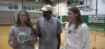 Interview with Smithville Volleyball Team Members Sarah Coffman & Corene Keele
