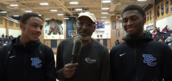 Interview with Da'Quon Brown & Derrick Baker Members Of The Oklahoma Deer Creek Men's Basketball Team. At The 2and Annual Phog Allen