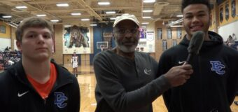 Interview with Jerry Tullis & Jalyn Todd Members Of The Oklahoma Deer Creek Men's Basketball Team At The 2and Annual Phog Allen Invitational