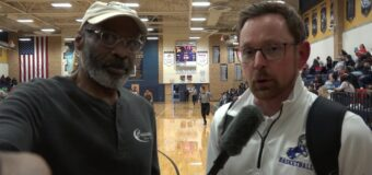 Interview With Oklahoma Deer Creek Head Men's Basketball Coach Michael Donnelly. At The 2and Annual Phog Allen Invitational