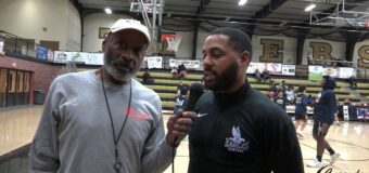 Interview with Central Blue Eagle Head Boys Basketball Coach Robin Lucas at The 45th Annual Summit High School