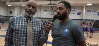 Pre Game Interview with Central Blue Eagles Head Coach Robin Lucas