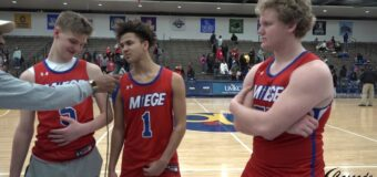 Interview with Aiden Wing, Christian Bowen Webb & Max VanMeter Members of the Bishop Miege Stags Boys