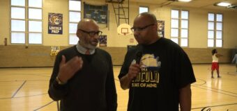 Interview with Class 4, District 15 Championship Lincoln Prep Basketball  Girls Head Coach Jeff Atkin