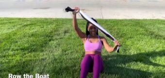 Kat Pro Fitness TOWEL/ T-SHIRT WORKOUT