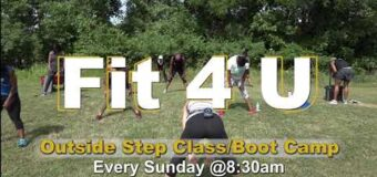 Fit 4 U Outside Step Class Boot Camp