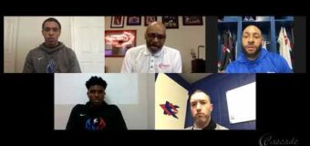 Interview With KCKCC Head Men's Basketball Coach Brandon Burgette & Assistant Coach Brady Morningstar and Two Of Their Players Ezekiel Lyons & Jermaine Yarbough