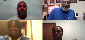 Interview with DJ Pittel Central Blue Eagles Head Football Coach and two of players Michael Johnson & James King