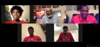 Interview with Southeast Blue Knights Head Coach Darryl Kearney And Three Of His Student-Athlete Jerrod Smith, Malik Sloan,& Bryan Phoenix
