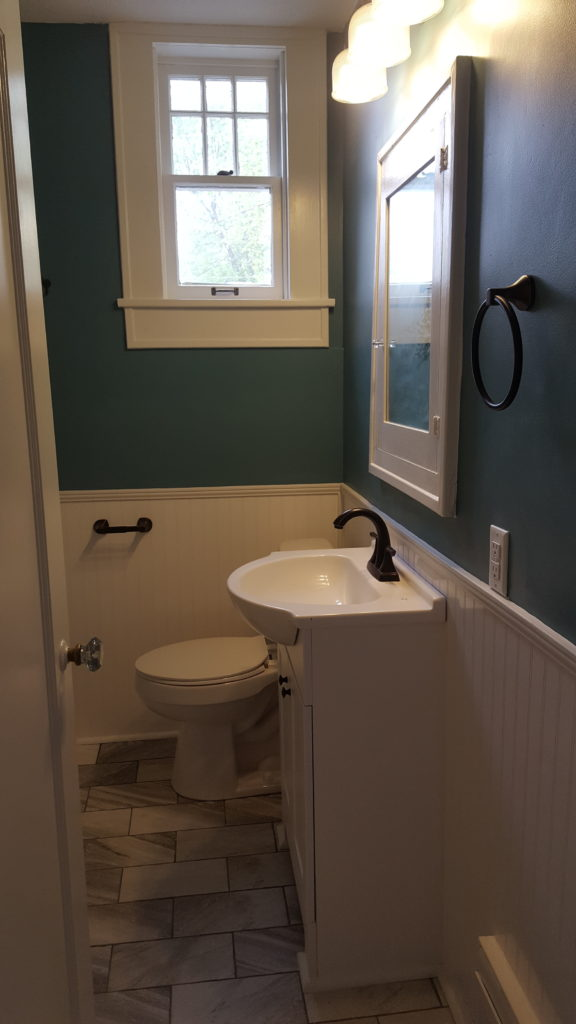 AFTER: small bathroom